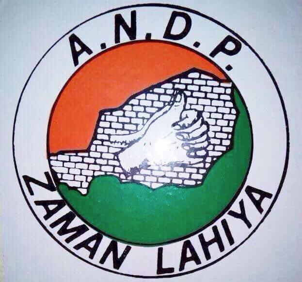 L'ANDP Zaman Lahiya Après le congrès, c'est l'effritement