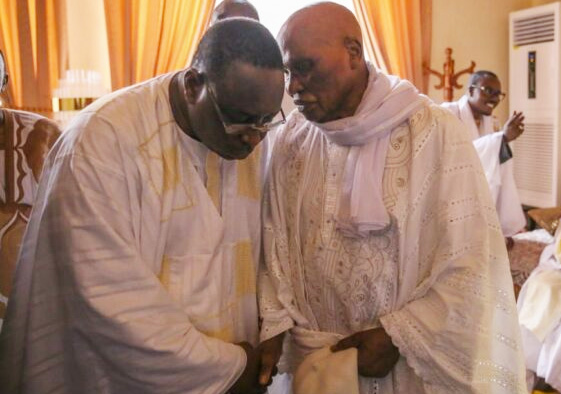 Abdoulaye Wade Macky Sall Reconciliation