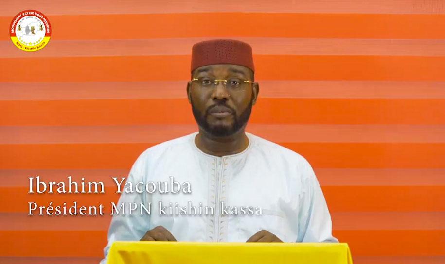 Discours du président du MPN KIISHIN KASSA le 1er mai, fête du Travail 2020