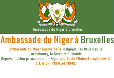 Communiqué de l'Ambassade du Niger à Bruxelles du 27 avril 2017
