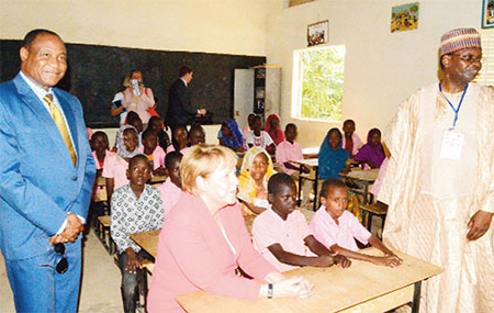 Angela Merkel - Education Niger