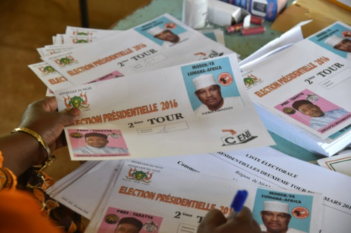 Election 2nd Tour 2016 Niger
