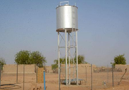 Hydraulique et assainissement dans la région de Dosso
