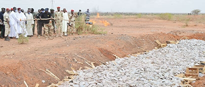 Incineration Drogue Niger