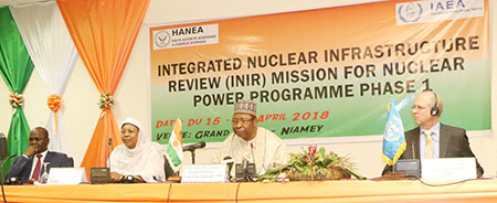 Infrastructure Nucleaire Nationale INIR Niger cloture