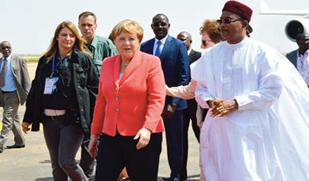 Issoufou Angela Merkel Niger