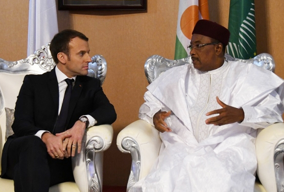 Isssoufou Macron Reactions Nigeriens