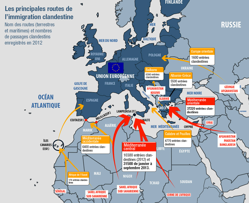 L UE s effondrera Immigration si elle ne change pas de cap sur la question des migrations