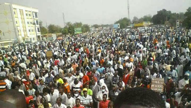 Loi Finances 2018 Niger Manifestants 03
