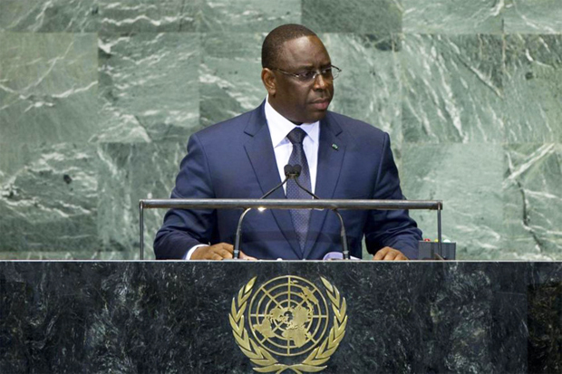 Macky Sall Energie Afrique Nations Unis