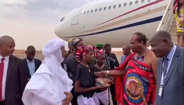 Arrivée à Niamey de plusieurs Chefs d'Etat et de gouvernement Ballet aérien dans le ciel de Niamey