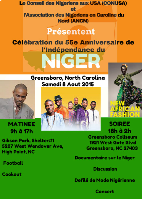 Niger Usa Greensboro